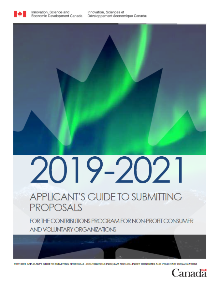 2019-2021 Guide to submitting proposals to the Contributions